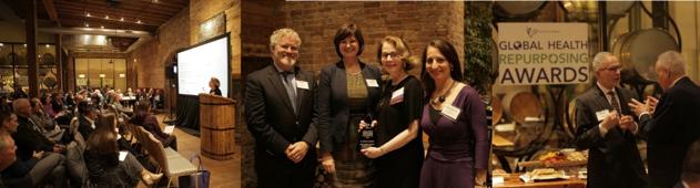 Global Health Repurposing Award reception honoring leadership in medical repurposing