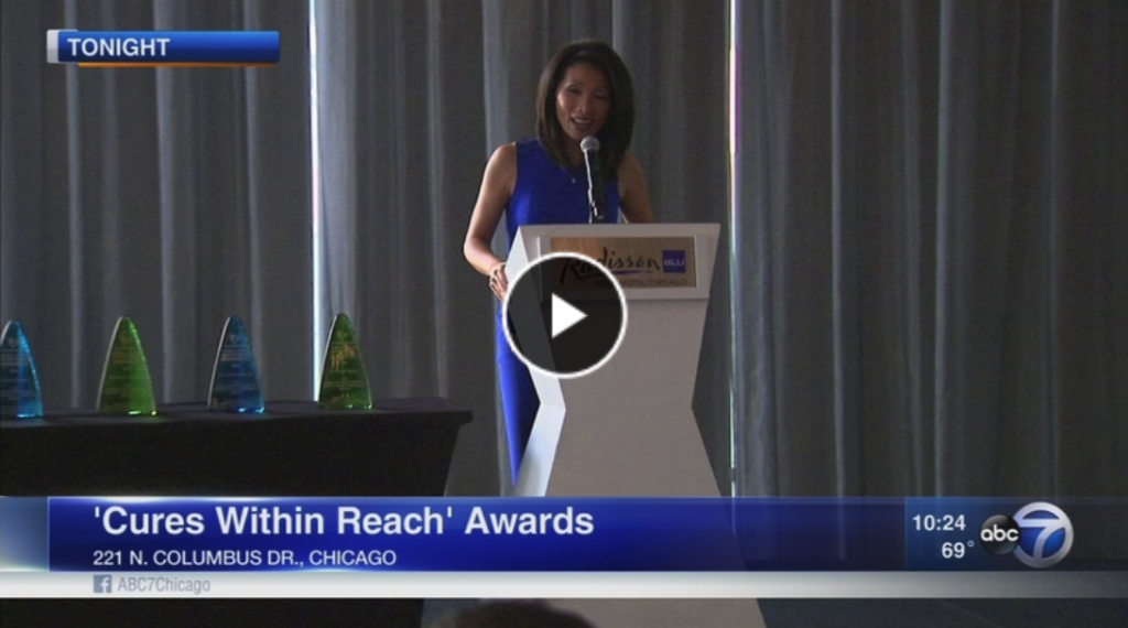 Judy Hsu hosts Global Health Repurposing Awards ceremony