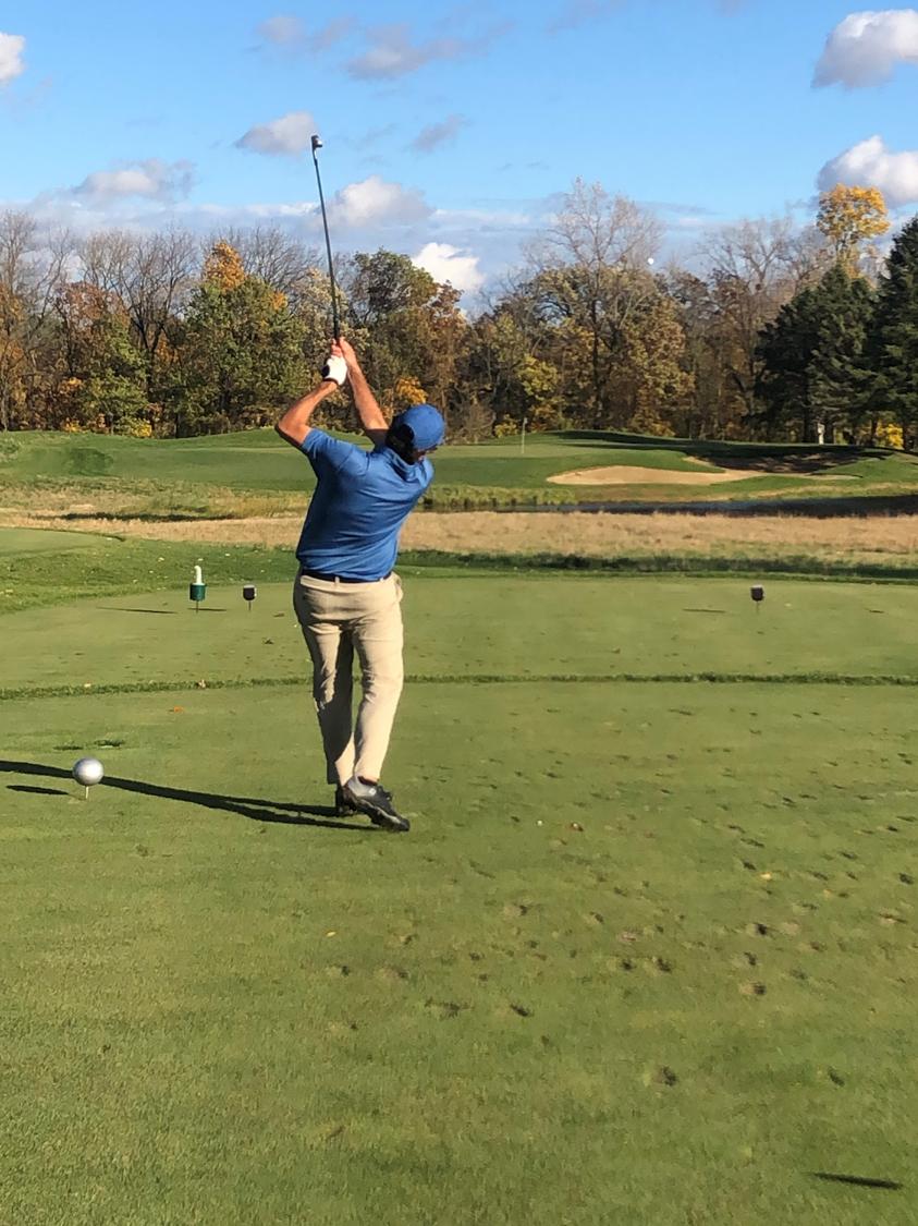 Golf 2020 tee off