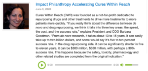 cures-within-reach-impact-philanthropy-podcast-interview
