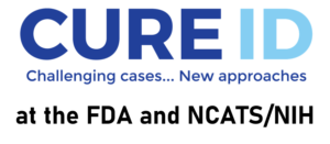 CURE ID at FDA and NCATS/NIH